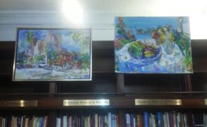 Sonia Grinevas pictures of Yorkville and food stilllife